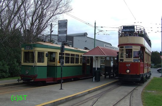 Museum of Transport and Technology: MOTAT Trams