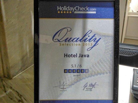 Java Hotel: 5,1/6 !