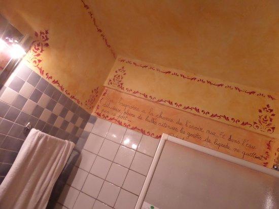 HOTEL DU PARC : Decorazione del bagno