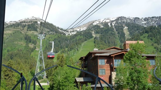 Ranch Inn: Jachson Hole WY - Seilbahn