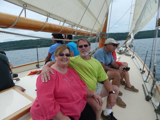 Schooner Excursions, Inc: Jay and Lillian from Seneca Falls , N.Y. Great sail.