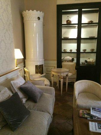Hotel Casa 1800 Granada : Sitzecke im Patio