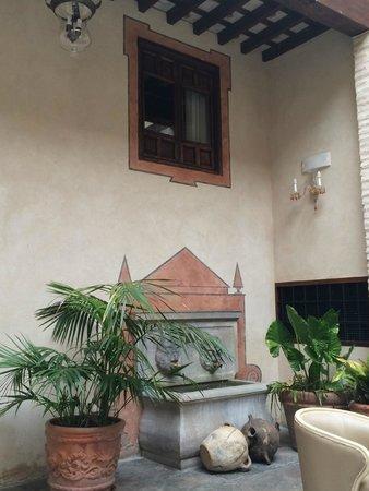 Hotel Casa 1800 Granada : Patio