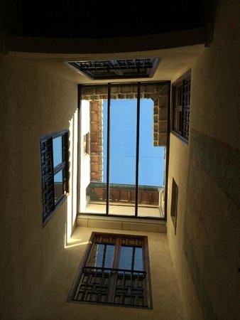 Hotel Casa 1800 Granada : Blick vom Patio in den Himmel