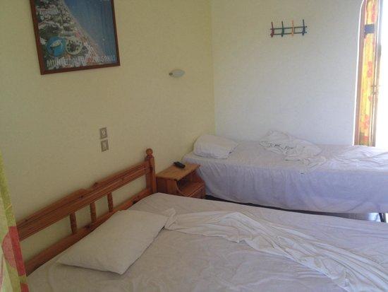 Studio Stars: Double bedroom (mess is my fault)