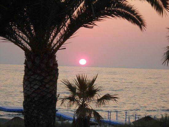 Ephesia Holiday Beach Club: vue de la chambre