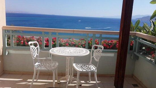 Herods Palace Hotel Eilat: מרפסת