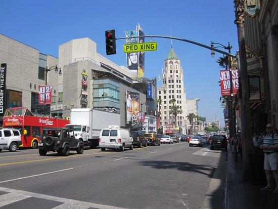 Hollywood : 通りの景色