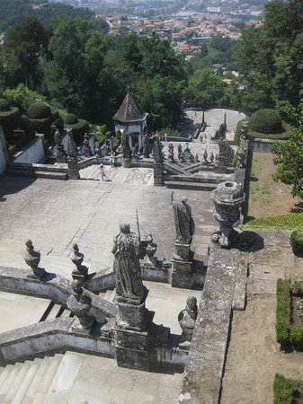 Bom Jesus do Monte: the view towars Braga