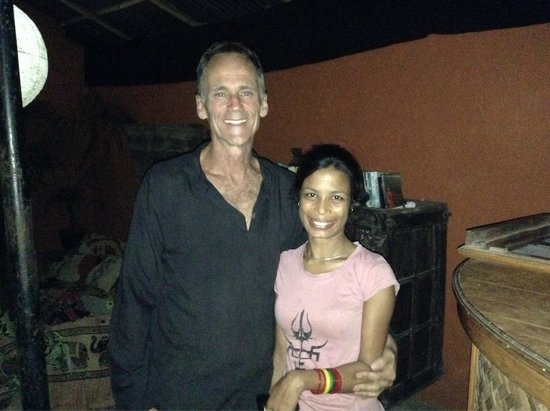 Burger Bar: The lovely owners of The Pokhara Beach Club!