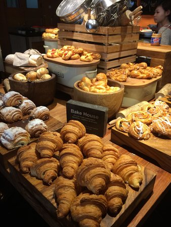The Stones Hotel - Legian Bali, Autograph Collection: Breakfast - bakery selection at Stones hotel bali