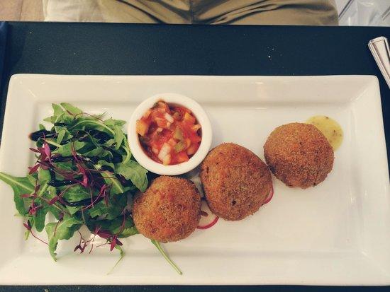 Restaurant Eleven: Risotto balls
