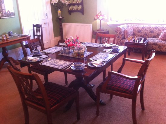 Old Bank House B&B: A perfect breakfast room!