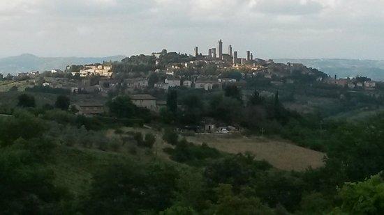 Villa Baciolo : view from the garden terrace