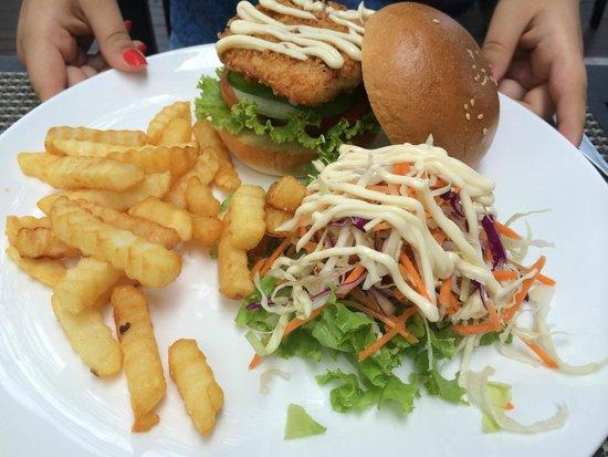 Bistro Park: бургер