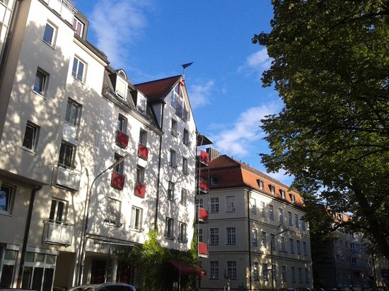 Hotel Prinz: Hotelfassade