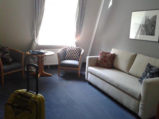 Hotel Prinz : Wohnzimmer