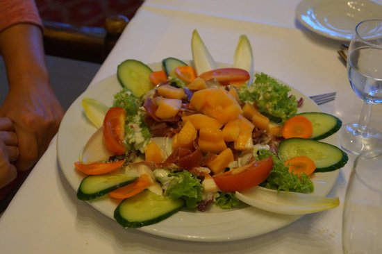 Globales Post Hotel & Wellness : Exotic salad