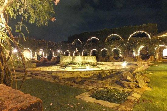Hotel Museo Spa Casa Santo Domingo: fontana all'interno della struttura