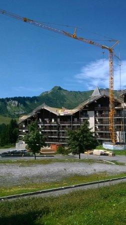 Residence Les Terrasses du Mont-Blanc : vue de la résidence
