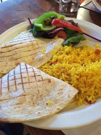 Coriander Restaurant: Quesdillas