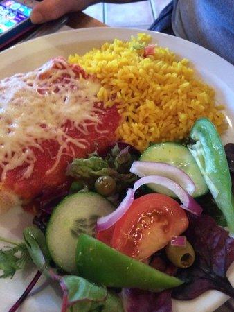 Coriander Restaurant: Beef Burrito