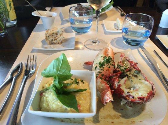 La Coquille : Homard dans la formule de déjeuner