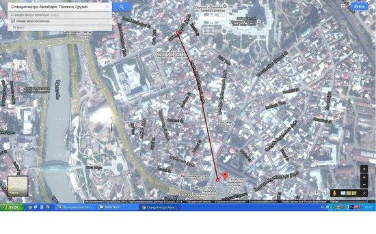 Mirobelle Hotel: Как пройти к отелю - Route