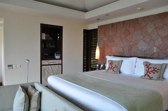 Raffles Seychelles: Interior of my Villa