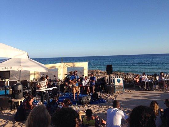 Blue Bar Formentera: Live music gruppo spagnolo