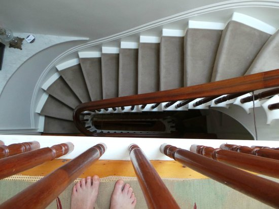 The 1863 House Bed and Breakfast: The stairs