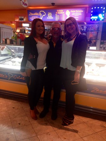 Zanette's Gelato: Franks and the girls