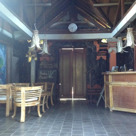 Pondok Bambu : Front doors closed for Nyepi