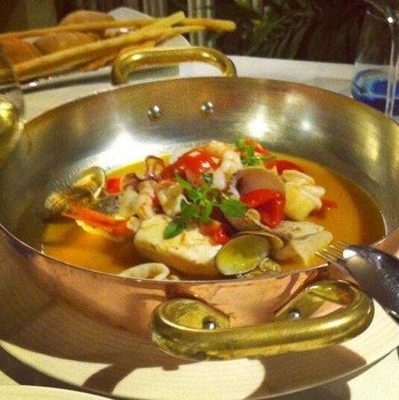 il buco Sorrento: Zuppa di pesce