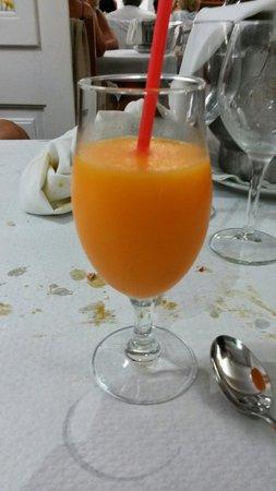 Es Cranc : Maravilloso sorbete de mandarina