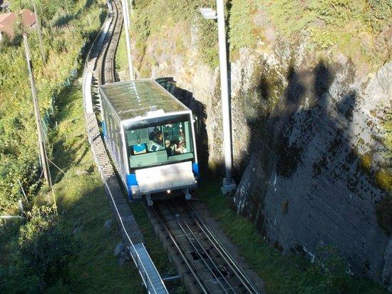 Mount Floyen and the Funicular (Floibanen): Car 2 - August 2014