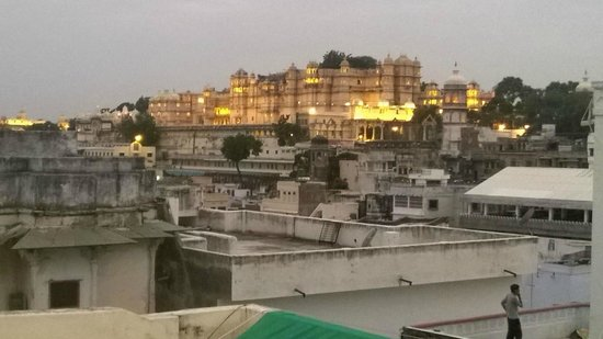 Kotra Haveli: Palace view from Roof top