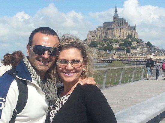 Abbaye du Mont-Saint-Michel : Lugar lindo e que vale sempre a visita. Nossa segunda vez lá e muito satisfeitos com o belo cená