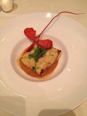 Xaviars On The Hudson : seafood crepes