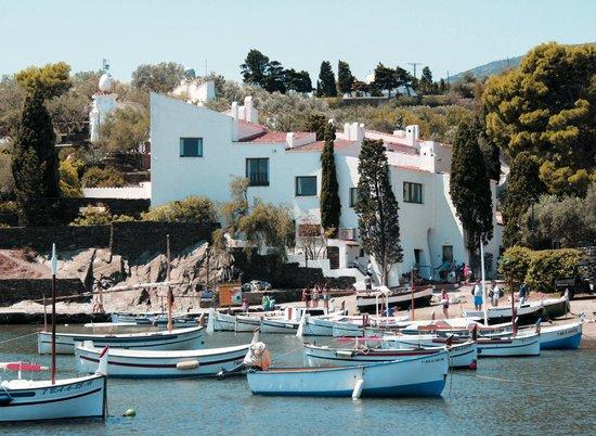 Casa-Museo de Dalí: Vista desde PortLligat