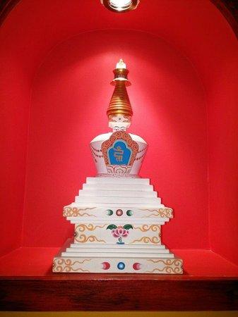 Tibet Gimalai: Decoración