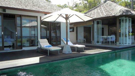 Shunyata Villas Bali: Schlafen / Wohnen