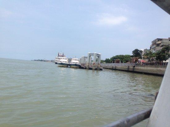 Danshuei: 淡水の船着場