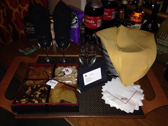 New Orleans Marriott : Hotel Amenity from Jane Farve