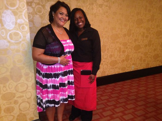 New Orleans Marriott : Best server ever; Doris at 5 Fifty 5
