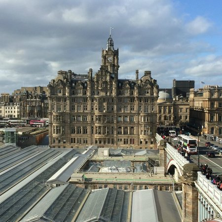 The Scotsman Hotel : Bedroom View of The Balmoral