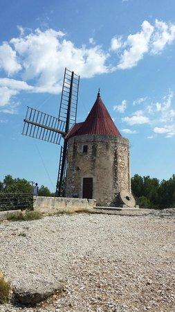 Moulin de Daudet : Le moulin d'Alphonse Daudet