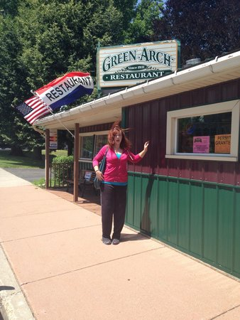 Megan at The Green Arch Restaurant
