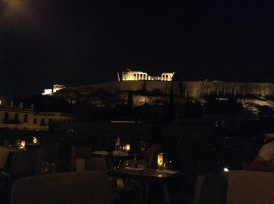 Herodion Hotel : acropoli vista dal roof garden