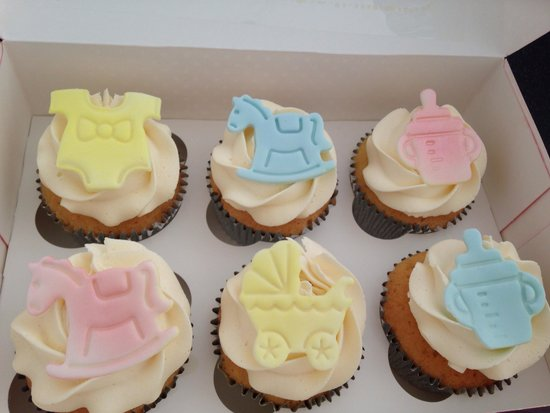 Claires Cupcakes: Baby shower